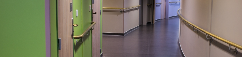 Antimicrobial Copper handrails in Avize Care Home, France